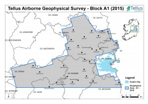 Tellus Airborne Geophysical Survey Block A1 2015