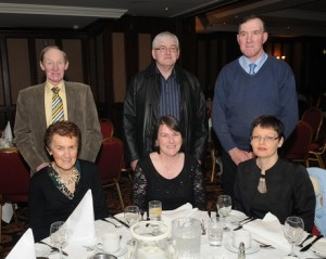 At the ICSA annual dinner dance in the Mount Errigal Hotel, Letterkenny on Friday night were from left, Jim and Irene McKane, Killygordon, Helen and Willie Foy, Glenfin and Florence and Joseph Blackburn, Glenfin.