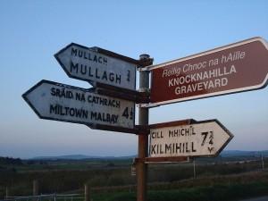 Kilmihill Sign