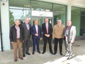 Minister Creed at ICSA HQ