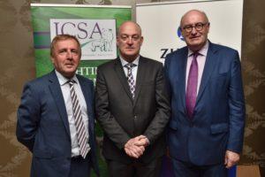 Minister Creed, Patrick Kent & EU Commissioner Phil Hogan