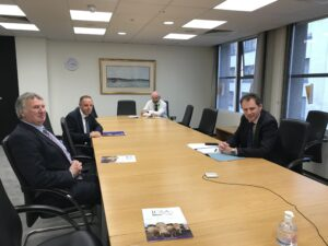 ICSA Meet Minister McConalogue