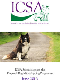 ICSA Submission On The Proposed Dog Microchipping Programme