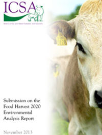 ICSA Submission On The Food Harvest 2020 Environmental Analysis Report